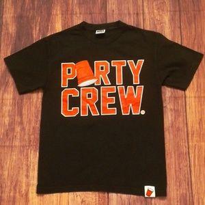 Booger Kids Grit & Grime Co. Party Crew T-shirt